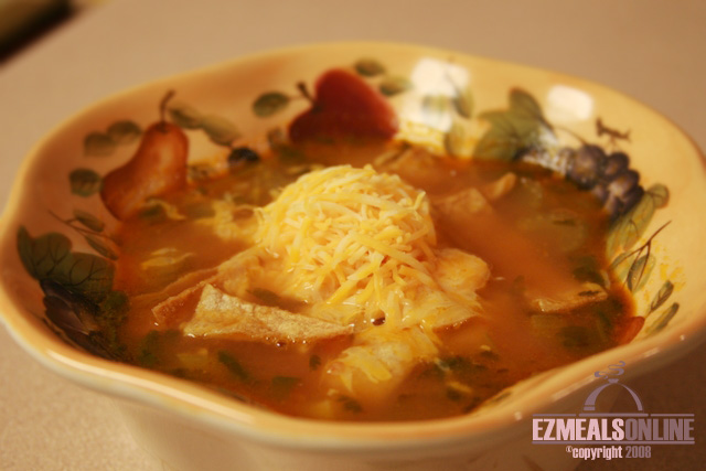 -MEXICAN CHICKEN SOUP-
